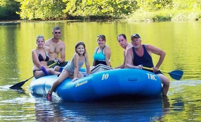 Rafting on the Meramec